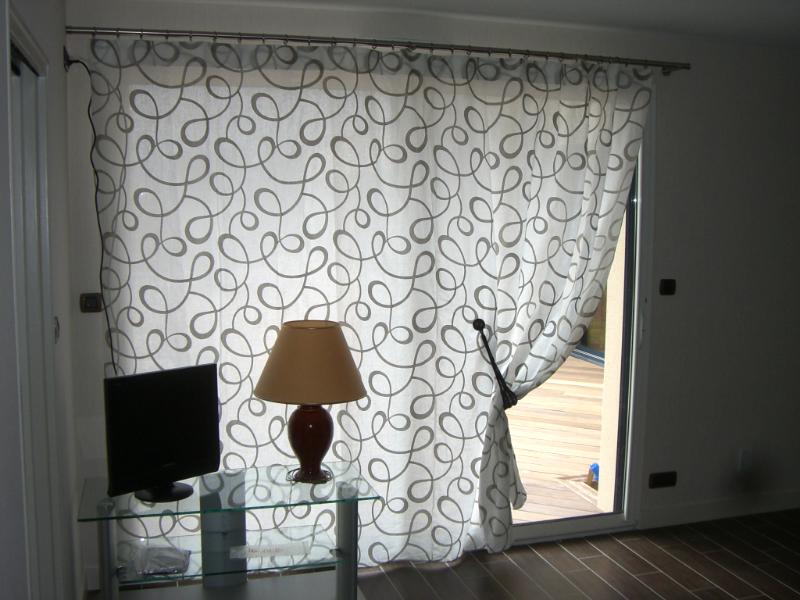 quel rideau pour une baie vitree